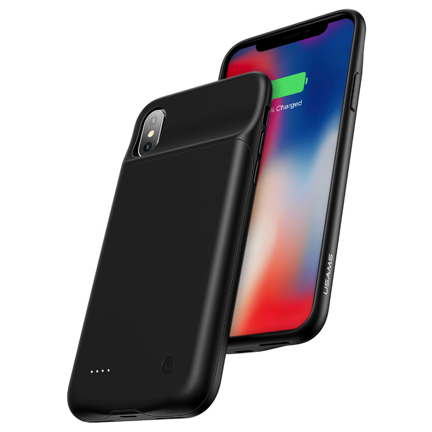 81a194895 Usams US-CD43 Battery Case Iphone X/XS 3200mAh – Mobax Kuwait